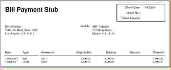11 independent contractor pay stub template pay stub template