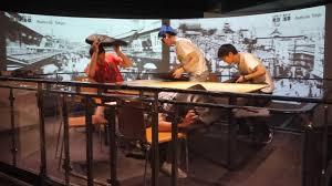 earthquake safety training at ikebukuro bosaikan life safety