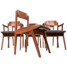 walnut dining room chairs six jan kuypers for imperial mid century walnut dining chairs for