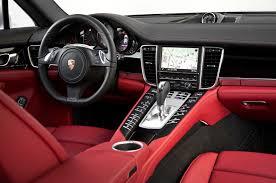 Porsche Cayenne Red Interior - 2014 porsche panamera 4s first test motor trend