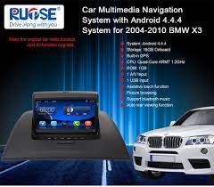 uk ship touch screen auto gps navigation stereo headunit for bmw