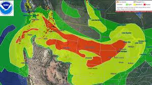 Canada Wildfire Smoke Usa by Smoky Skies Cover Iowa