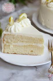 lemon layer cake with lemon curd frosting bear food