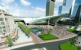rotterdam central station opens in 2014