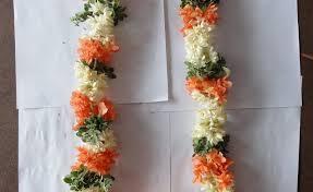 flower garland for indian wedding string flower designs gardening flower and vegetables