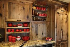 rustic farmhouse kitchen ideas rustic farmstead hickory reclaimed patina