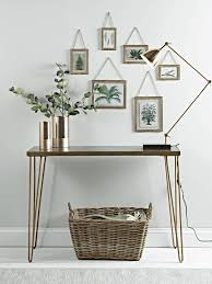 hairpin leg console table new brass hairpin leg console table hall pinterest hairpin