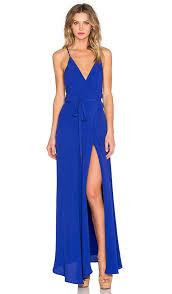 yumi kim rush hour maxi dress in royal blue revolve