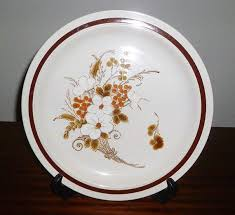oven to table platter vintage 1970s four seasons collection stoneware plate autumn