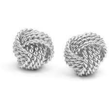 knot earrings inspired twist wire knot earrings polyvore