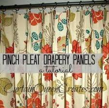 Making Pleated Drapes How To Make Pleated Curtains Because Sometimes Looking At A