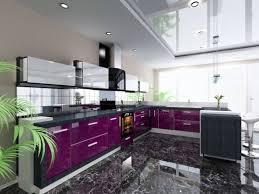 cuisine couleur violet cuisine grise et aubergine cuisine aubergine et gris meuble de