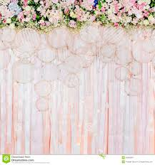 wedding backdrop flowers beautiful flowers background for wedding stock photo image