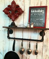 Pipe Shelves Kitchen by Industrial Kitchen Shelf Rustic Kitchen Shelves Industrial