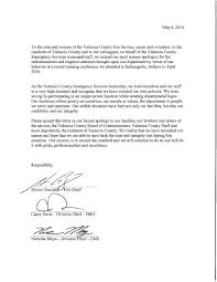 valencia county fire chief division chiefs send apology letter