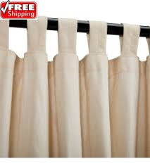 Sheer Curtains Tab Top Sunbrella Outdoor Curtains Tab Top