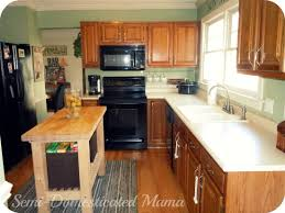 Gel Stain Kitchen Cabinets Before After Before After Kitchen Remodel For Under 65