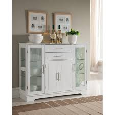 small storage cabinet with doors for kitchen k b furniture white wood 4 door kitchen storage cabinet