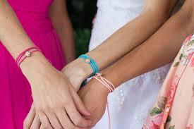 rhinestone wrap bracelet images Bridesmaid proposal gift handmade rhinestone wrap bracelet jpg