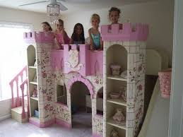 Princess Bedroom Furniture Girls Princess Castle Bed Disney Princess Room Decor Custom