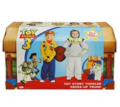 toy story toddler dress trunk u2014 qvc