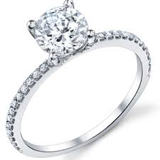 thin band engagement ring diamond eternity engagement rings budget diamond engagement rings