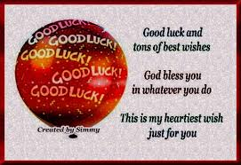 luck sms best of luck wishes collection sms shayari