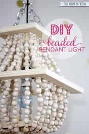 Tutorial On Diy Beaded Chandelier Make A Diy Beaded Chandelier Chandeliers Beads And Beaded