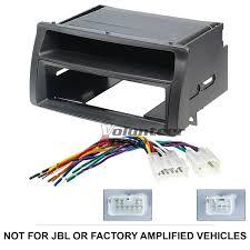 toyota corolla single din car stereo radio install dash mount kit