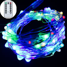 led christmas lights with remote control remote control battery led string lights powered by 3aa livingroom