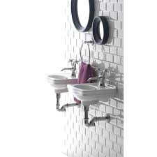 bissonnet lo944 evo londra wall mounted bathroom sink homeclick com