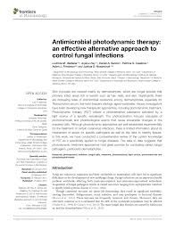 b b mycose si ge antimicrobial photodynamic therapy an pdf available