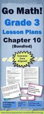 go math grade 3 chapter 10 lessons 10 1 10 9 w journal prompts