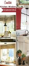 Kitchen Window Treatments Ideas Creative Kitchen Window Treatment Ideas Hative