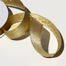 gold metallic ribbon 7 8 gold metallic ribbon