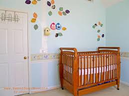 Bedroom Wallpaper Borders Baby Nursery Attractive Pink Baby Nursery Room Decoration