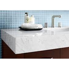 Madeli Bathroom Vanity by Ronbow Wideappeal 48 U0027 U0027 X 22 U0027 U0027 Marble Vanity Top In Carrara White