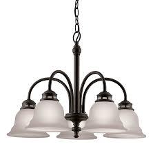5 light bronze chandelier shop project source fallsbrook 5 light dark oil rubbed bronze