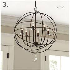 orb chandelier orb chandelier