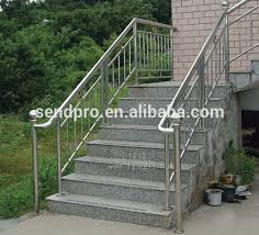 Outdoor Banister Stainless Steel Outdoor Stair Railing Stainless Steel Outdoor