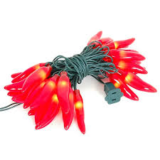 red chili pepper lights red chili pepper light strings with 35 lighted peppers novelty