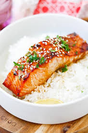 Cook Salmon In Toaster Oven Ginger Garlic Baked Salmon Easy Delicious Recipes