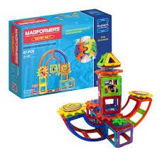 61 Amazon Com Magformers Magnets In Motion Set 61 Pieces Toys U0026 Games