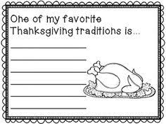 writing prompts for thanksgiving