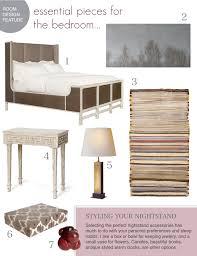 Bedroom Furniture Essentials Room Design Essential Pieces For The Bedroom Designing