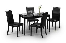 modern black lacquered dining table jb233