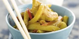 cuisine wok facile wok poulet ananas facile et pas cher recette sur cuisine actuelle