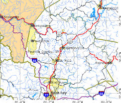 fayette county maps fayette county virginia detailed profile houses