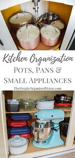 how to organize pots and pans in cabinet kitchen organization organizing pots pans small