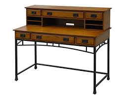 amazon com home styles modern craftsman executive desk and hutch